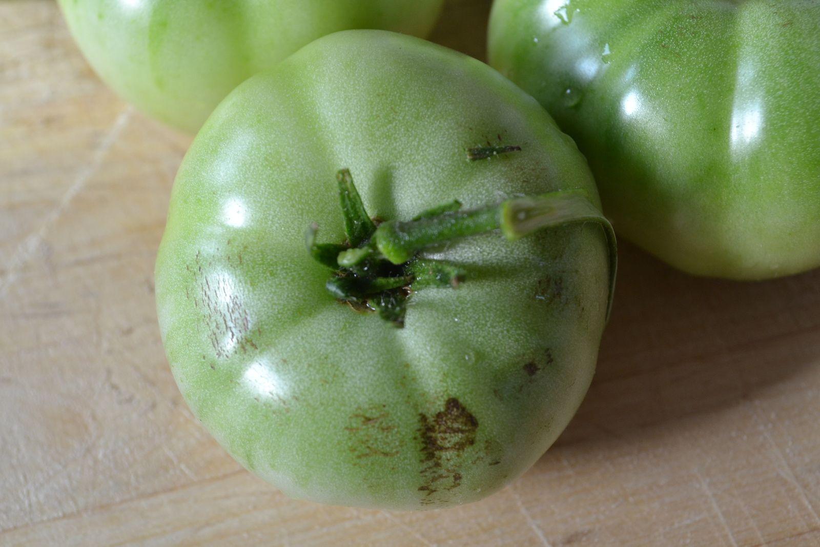 Confiture de tomates vertes et citron hum a sent bon - Tomate est un fruit ...