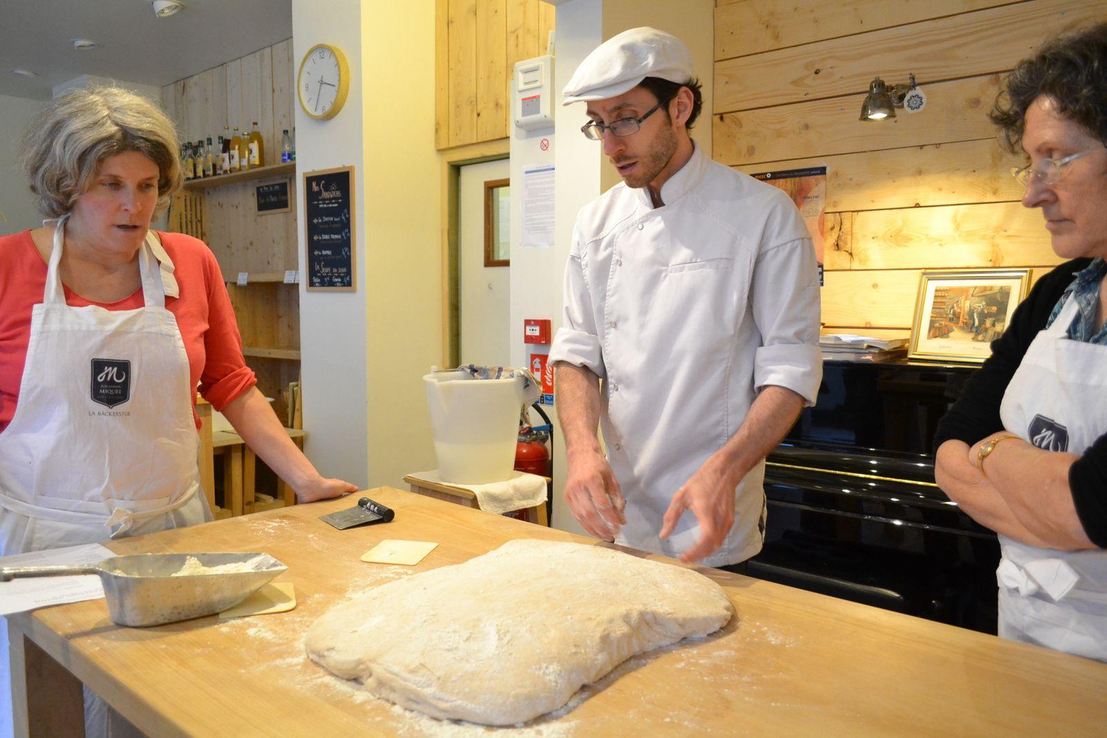 Le boulanger Jonathan Miquel nous donne encore des explications