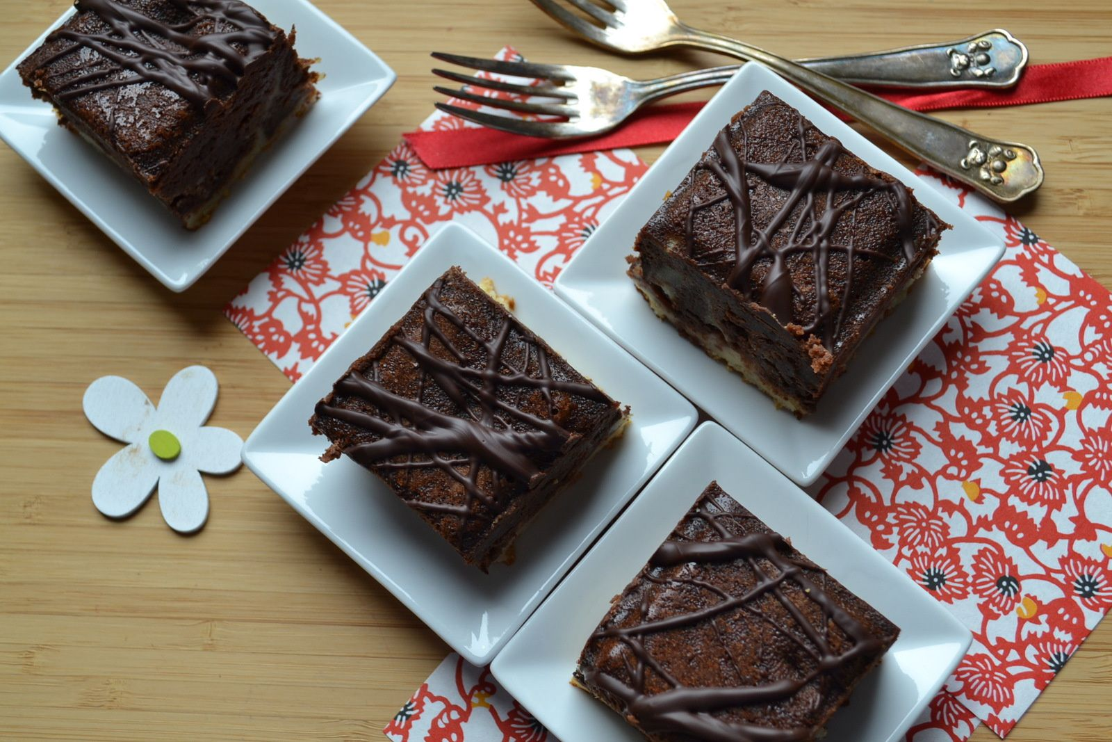 Cheesecake au brownie