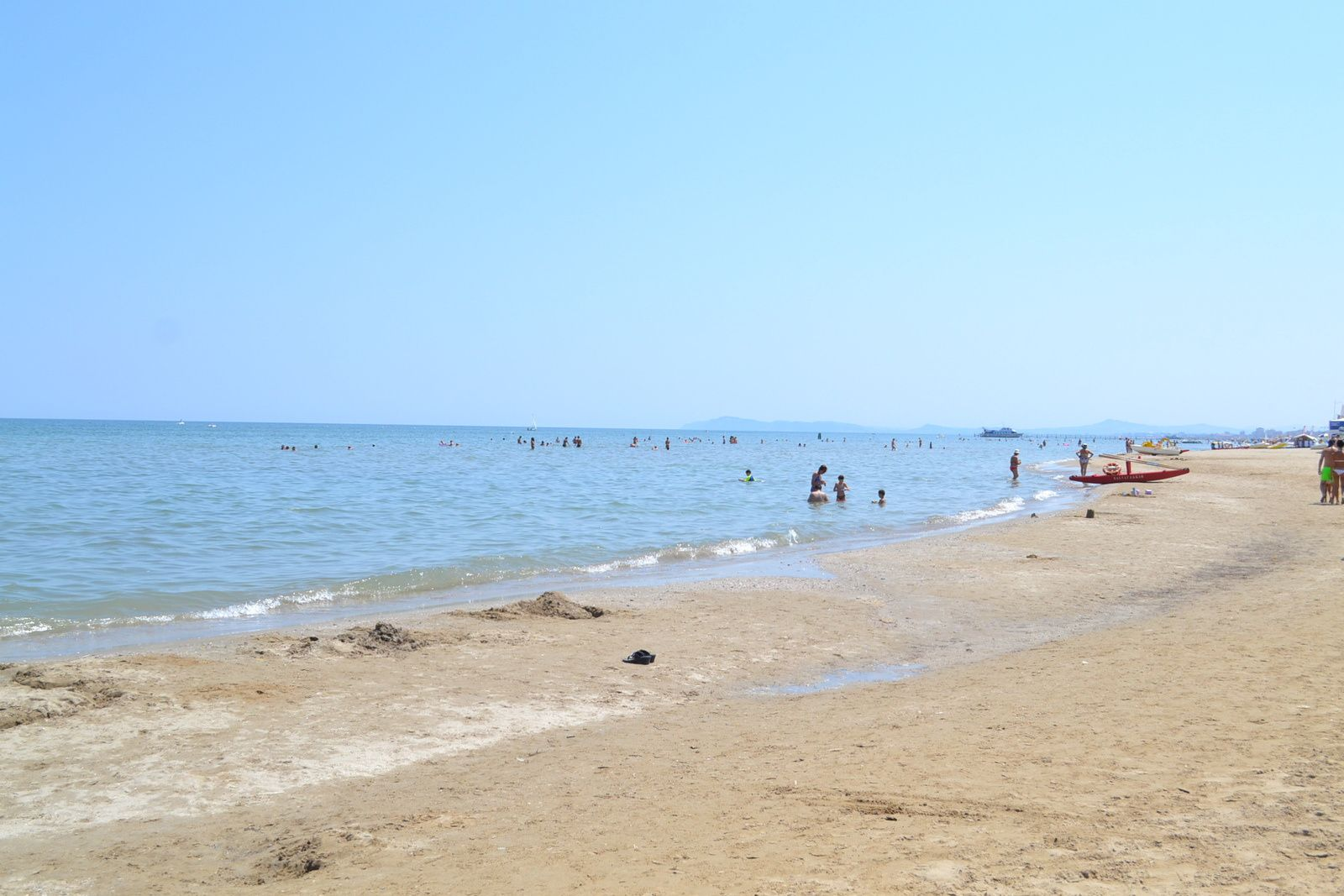 La plage rien que pour nous !