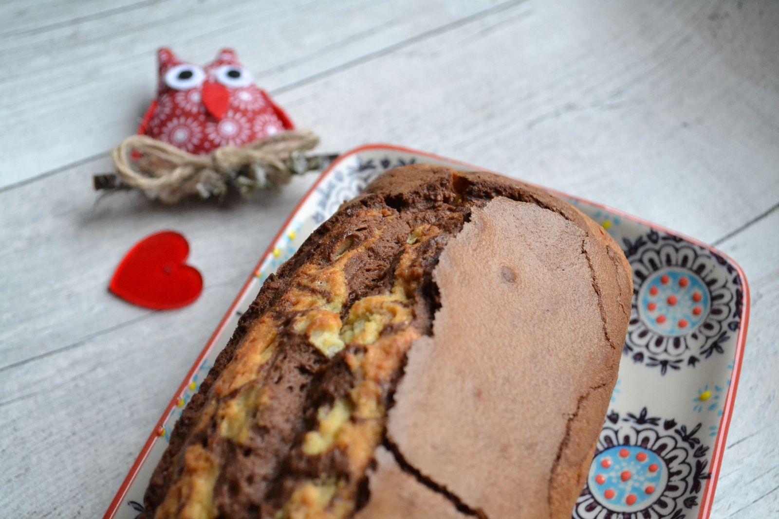 Cake marbré gaçon Savane