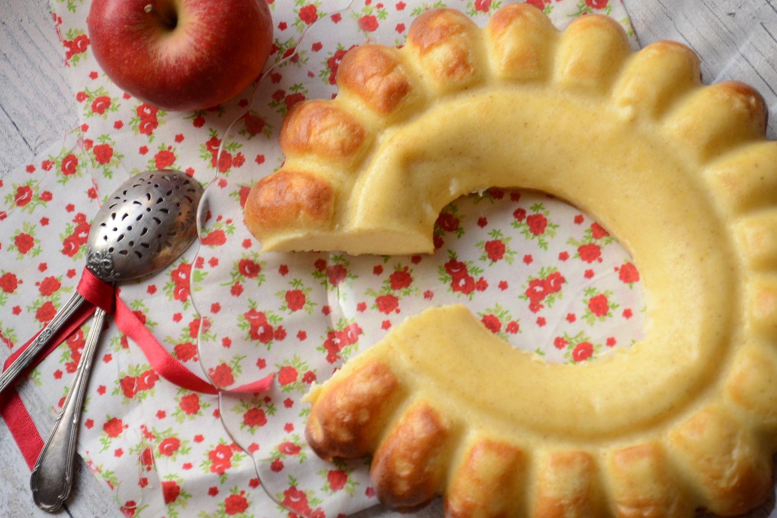 Flamousse aux pommes