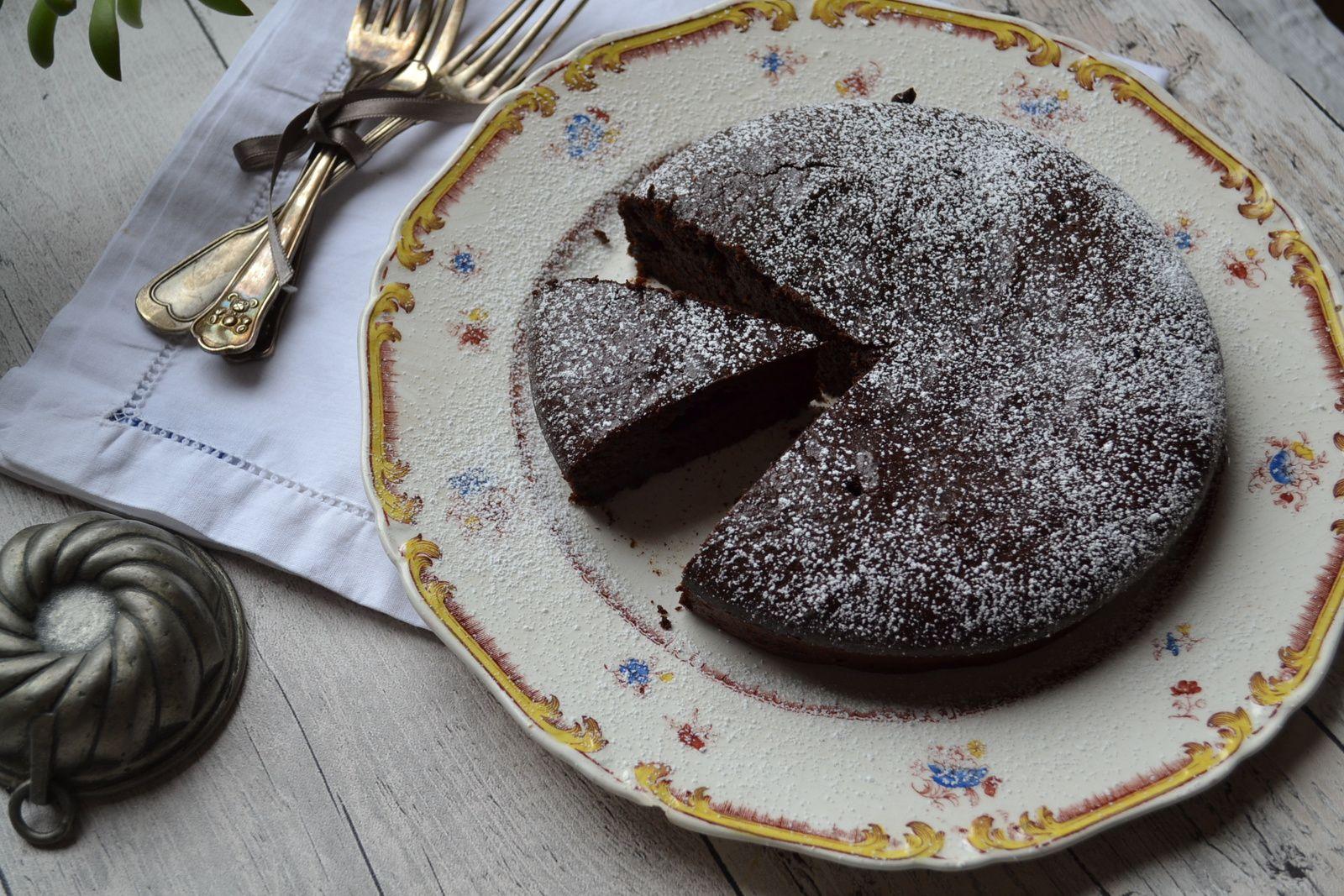 Torta cioccolato e mandorle #Jours Heureux