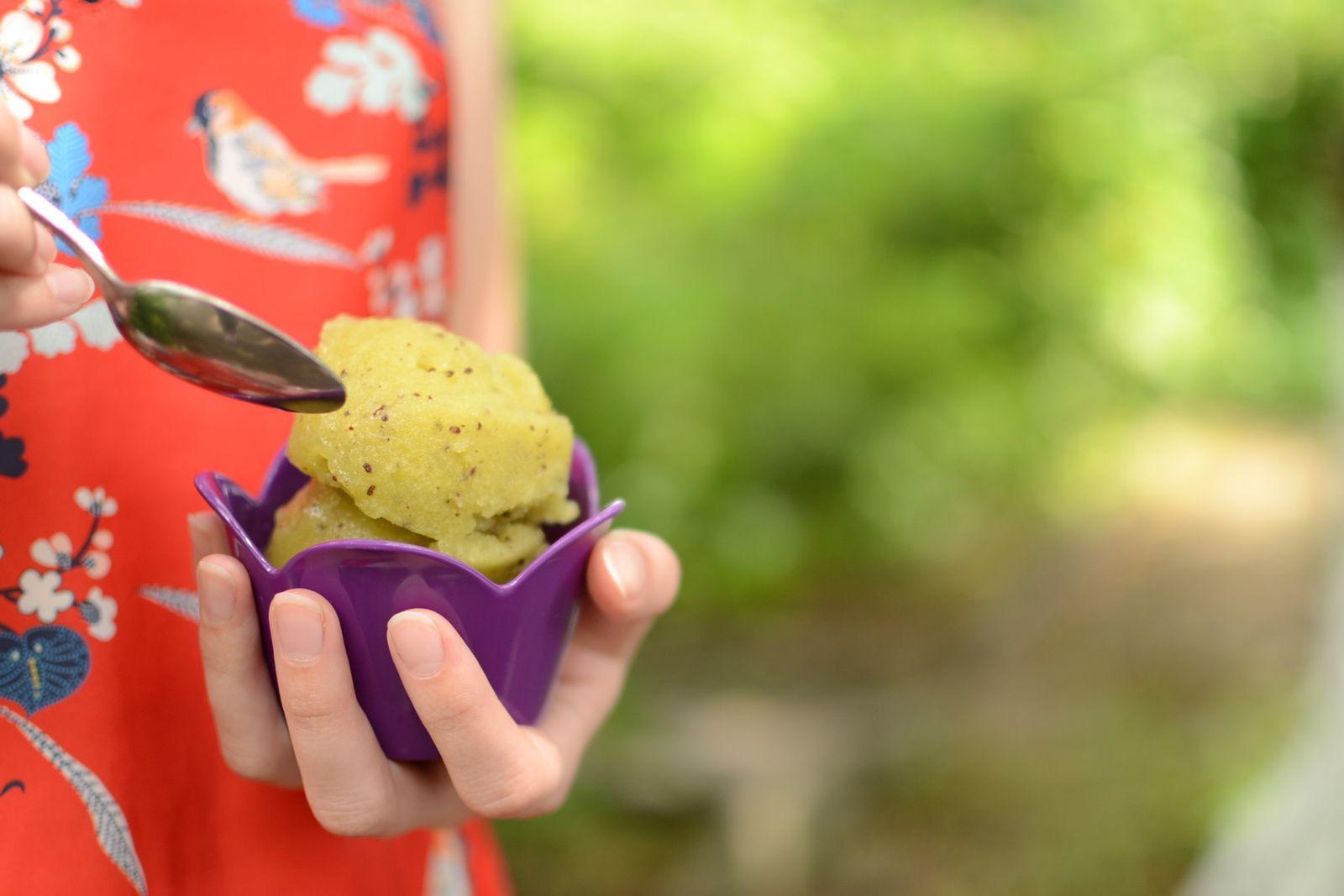 Sorbet au kiwi