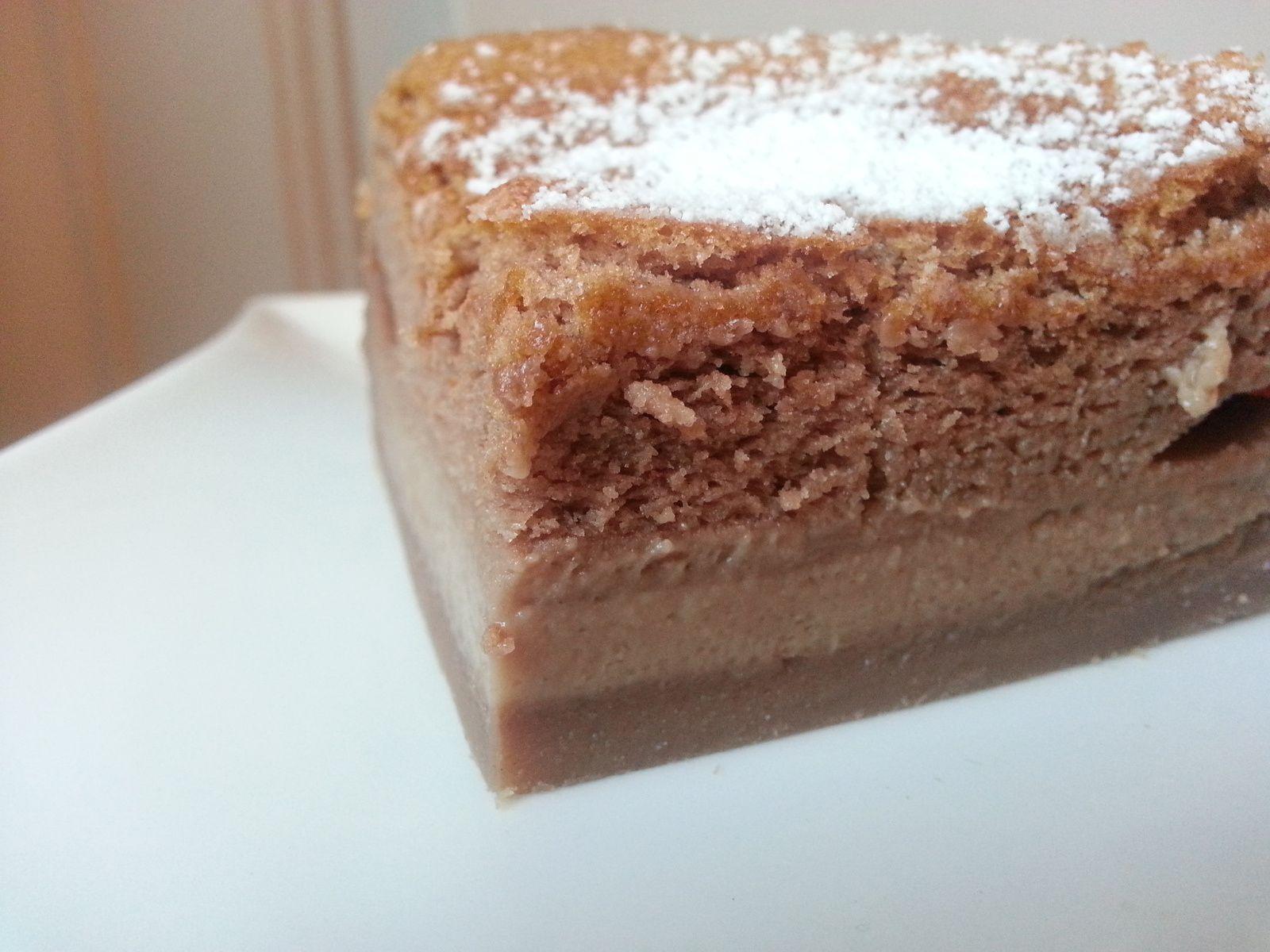 Le fameux gâteau magique, version Nutella!!