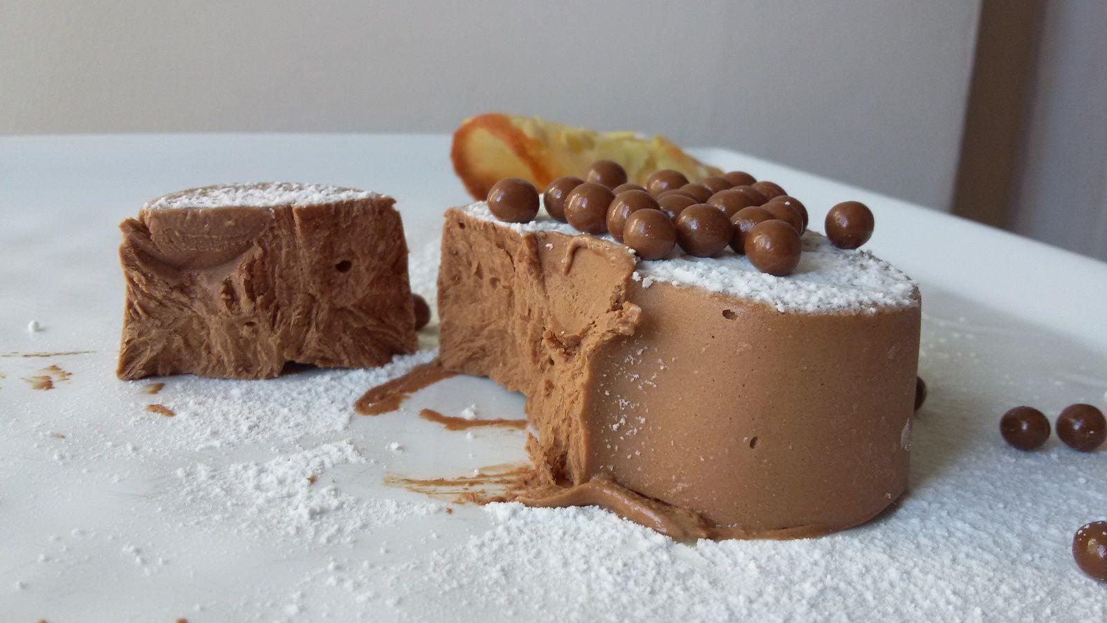 Parfait au chocolat pour mes 7 ans !!
