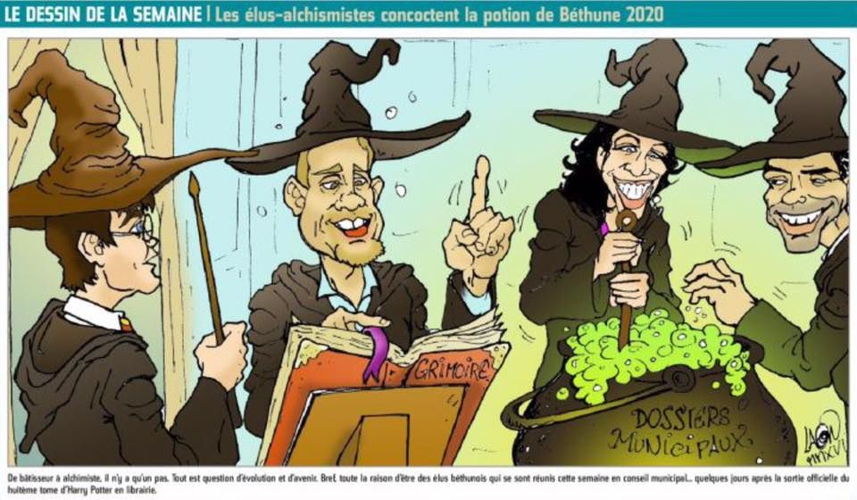 Harry Potter Maire de Béthune.