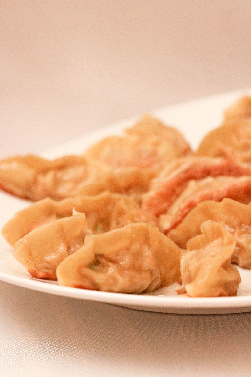 Raviolis grillés japonais au porc ( Gyosa )
