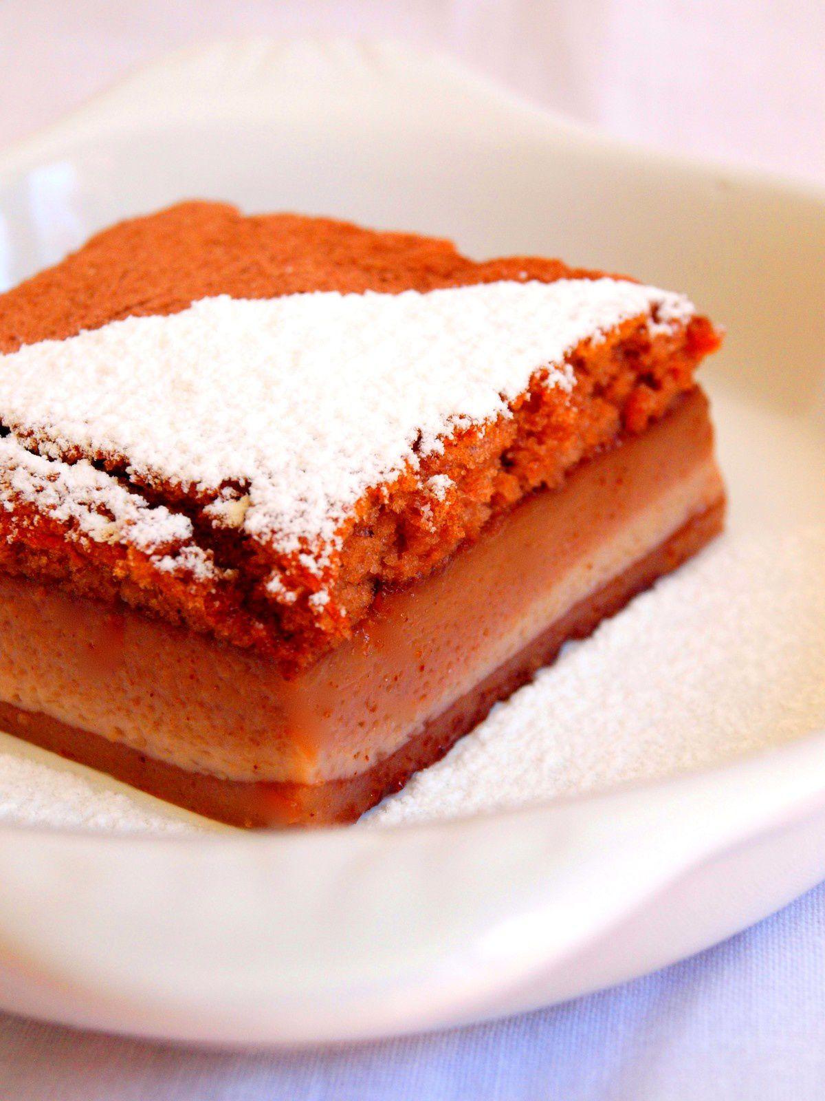 Gâteau magique au cacao