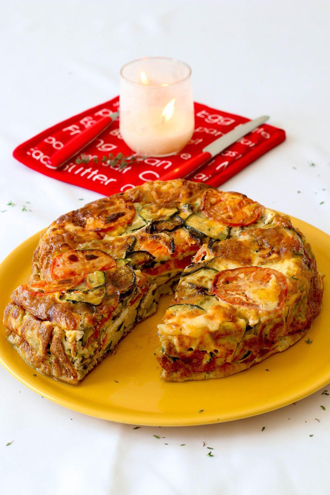 Gâteaux aux légumes du Sud