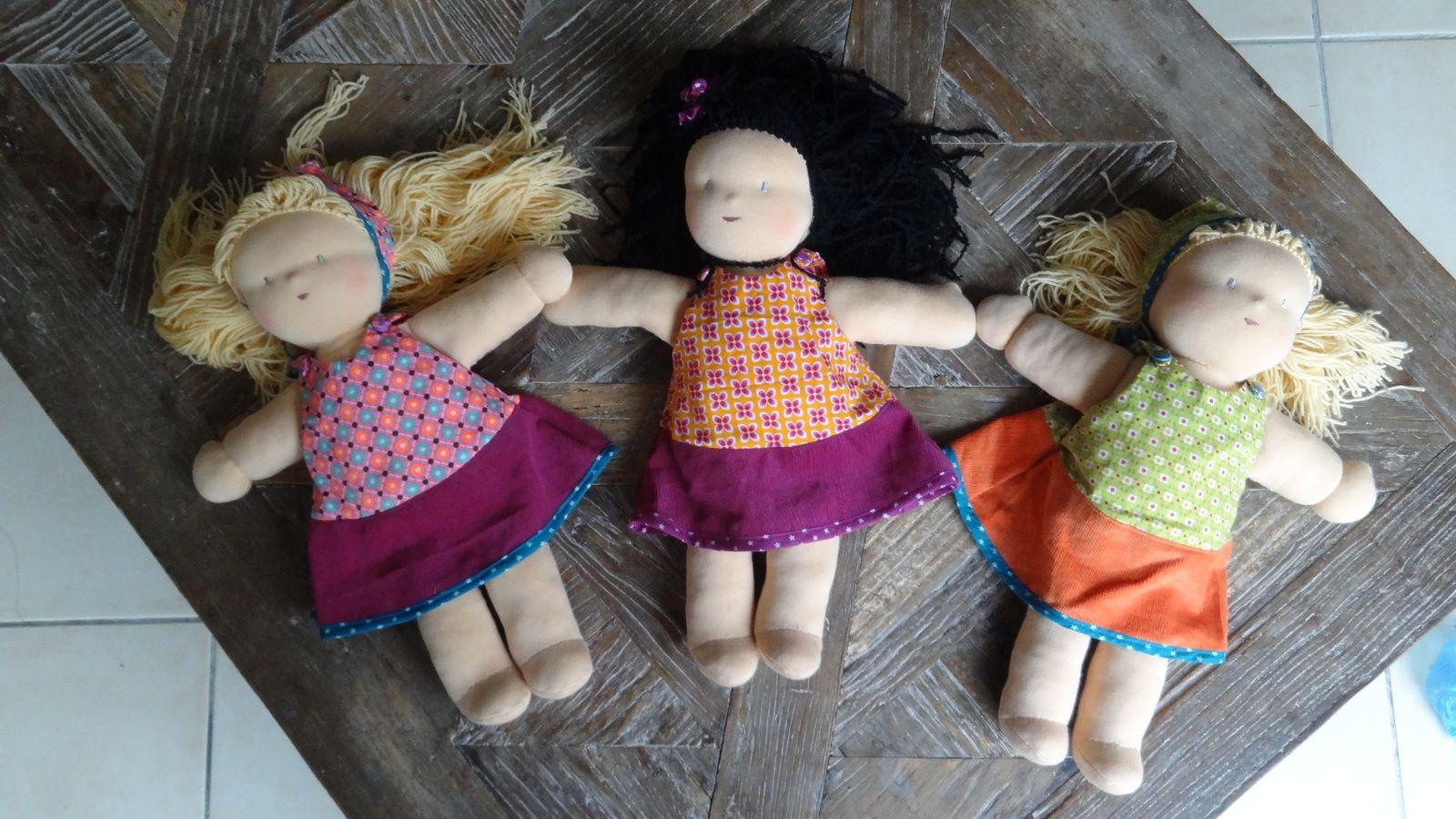 3 poupées poupettes !