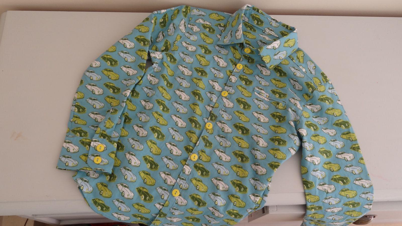 Première chemise soft cactus-ottobre