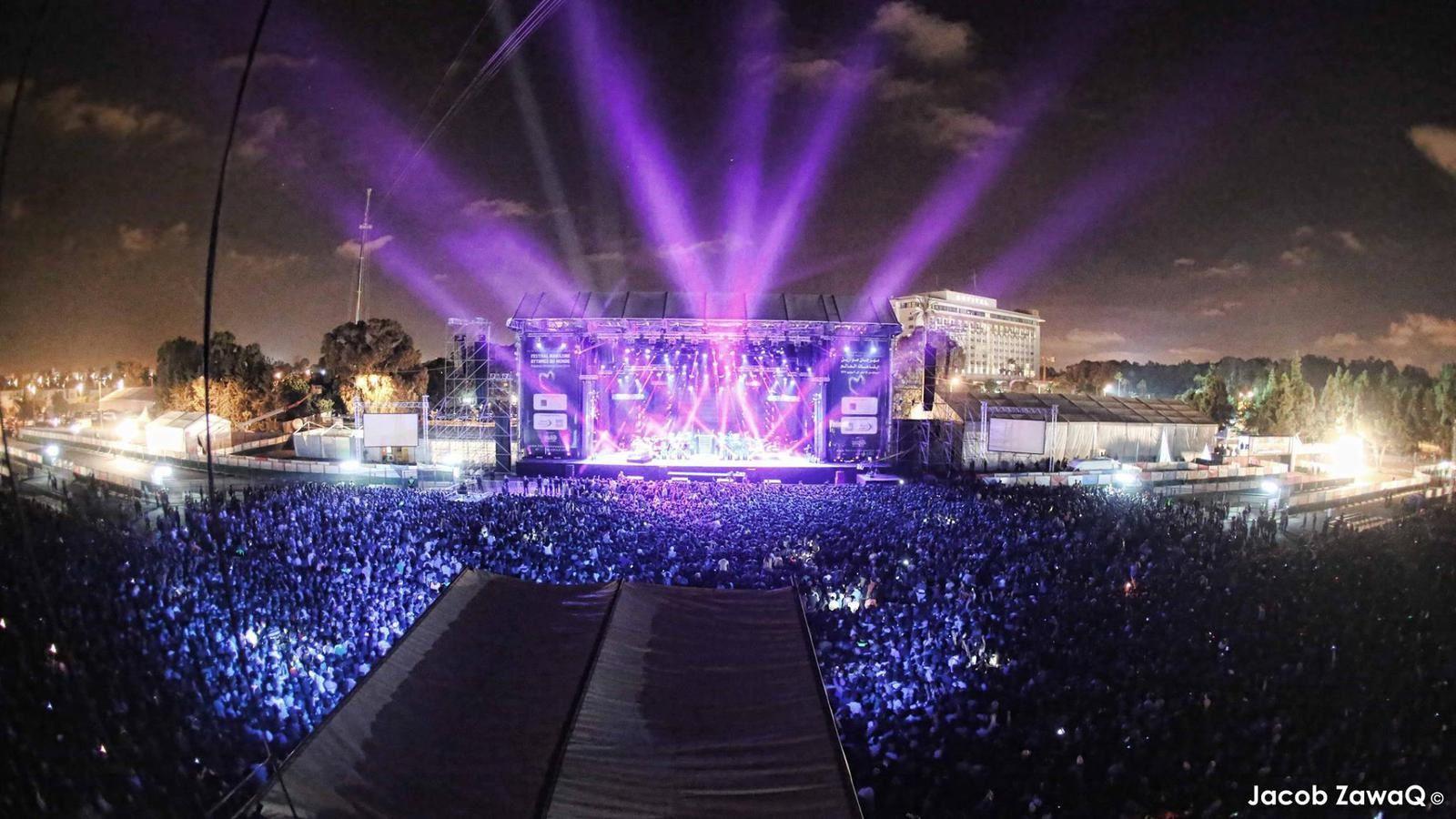 Justin Timberlake au festival Mawazine