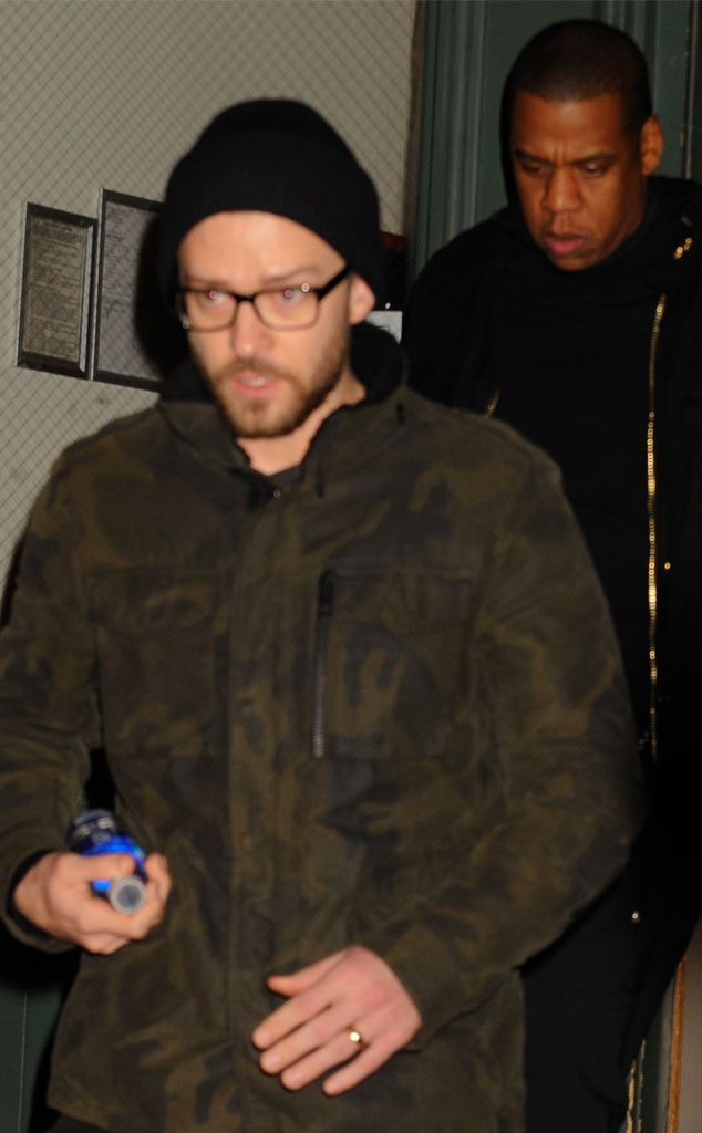 Photos: Justin Timberlake sortant de l'appartement de Taylor Swift
