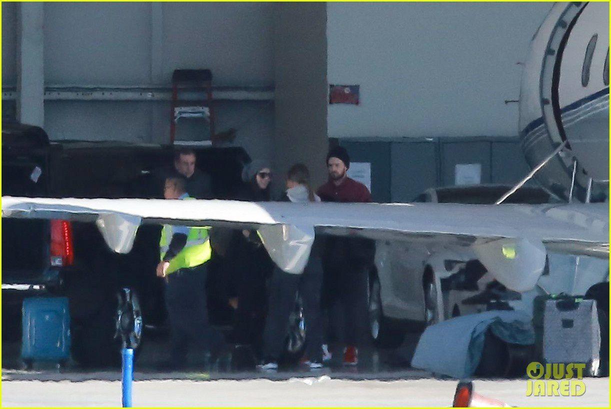 Photos: Justin et Jessica en Californie (28/12/14)