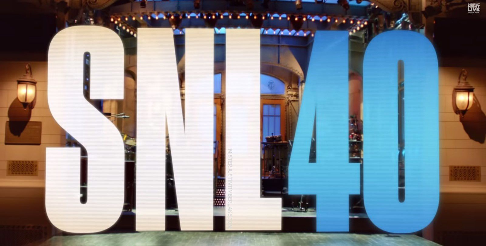 Justin Timberlake dans le Saturday Night Live le 15 février!