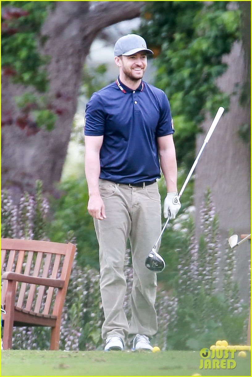 Photos: Partie de golf à Toluca Lake (6/5/15)