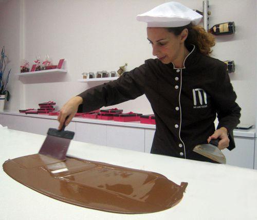 Le Liban s'éveille au chocolat avec Maya Maalouf Kanaan (M de Noir) !