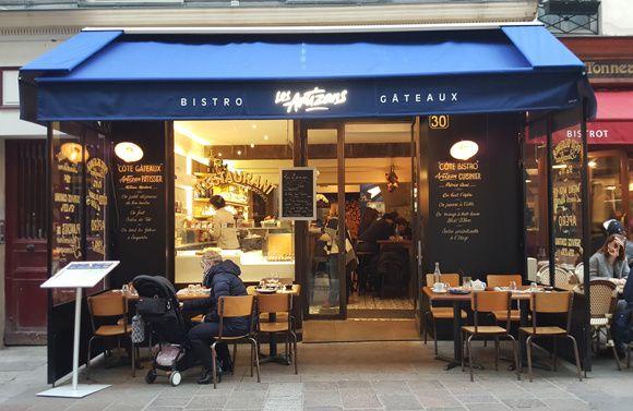 Les Artizans, bistrot-pâtisserie à Montorgueil !