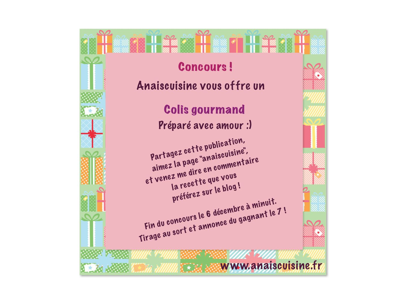 Concours anaiscuisine