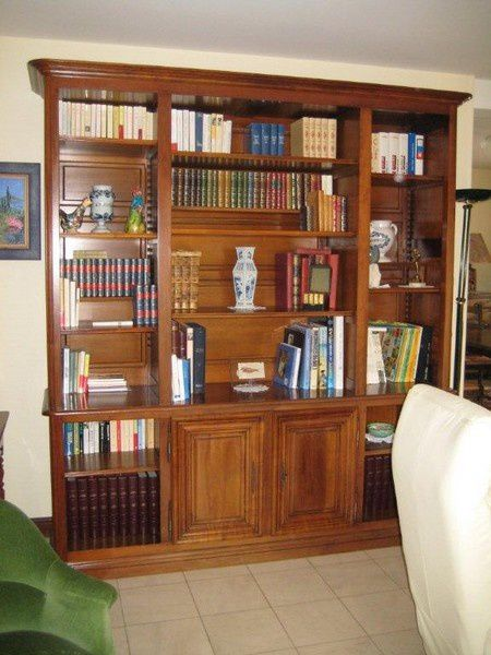 changement de d co pour une table enfilade et biblioth que cambes en plaine calvados. Black Bedroom Furniture Sets. Home Design Ideas