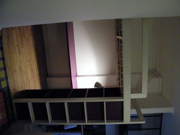 am nagement mezzanine violet. Black Bedroom Furniture Sets. Home Design Ideas