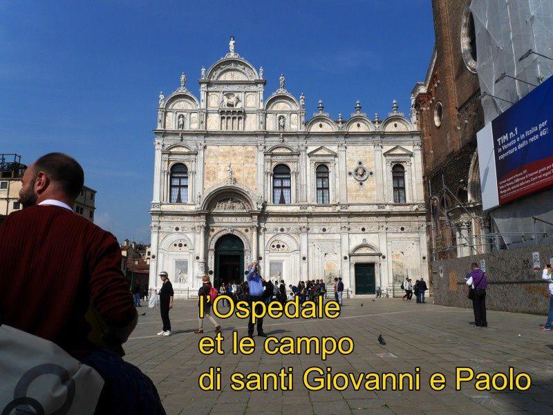 VENISE 28 : hôpital et campo di santi Giovani e Paolo