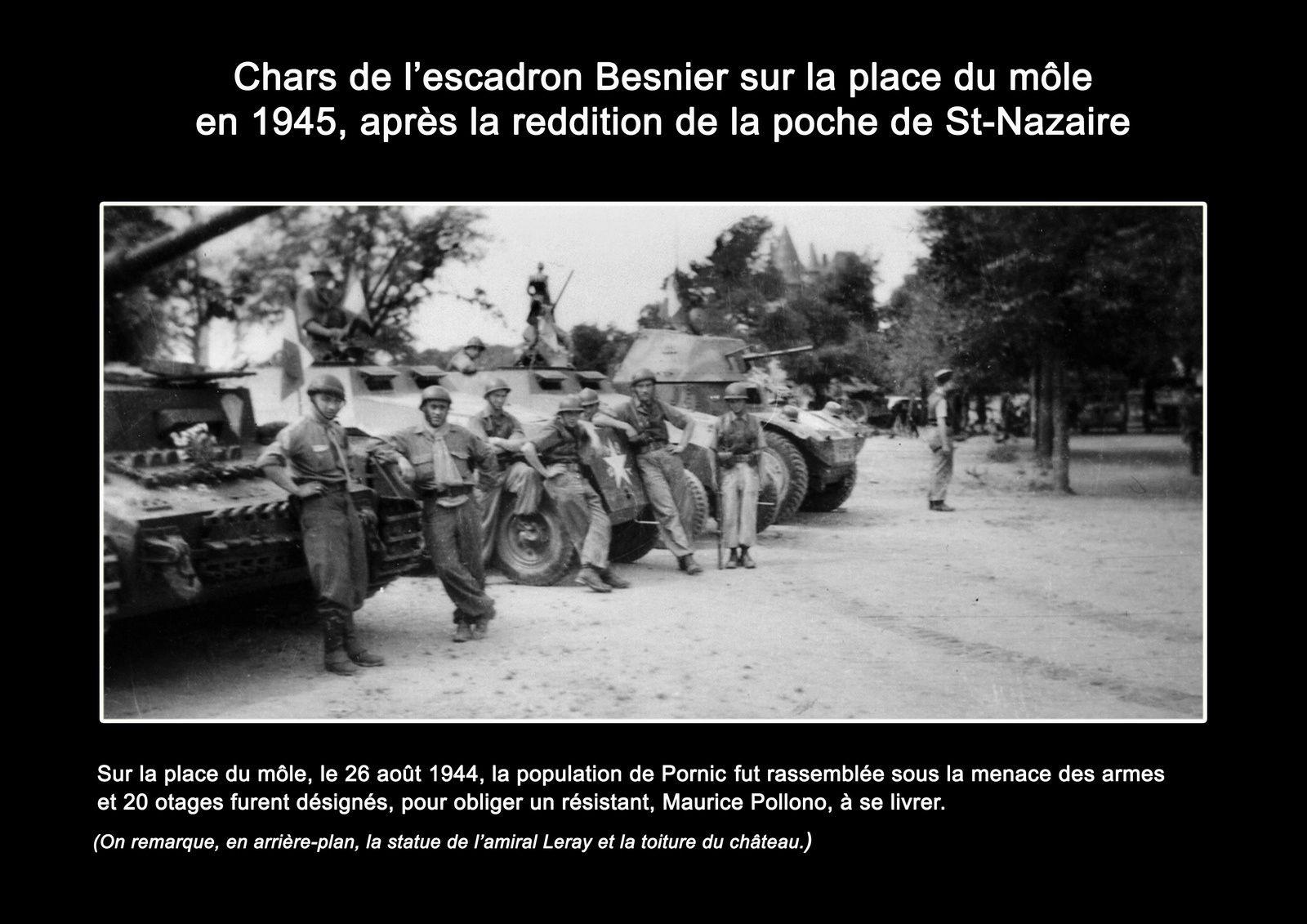 Pourquoi commémorer et vouloir reconstituer la prise d'otages du 26 août 1944 sur le môle de Pornic ?