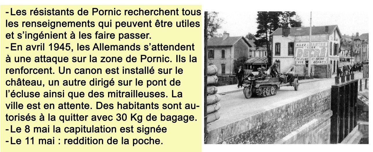 "PORNIC 1944-45 : la vie dans la ""poche"""