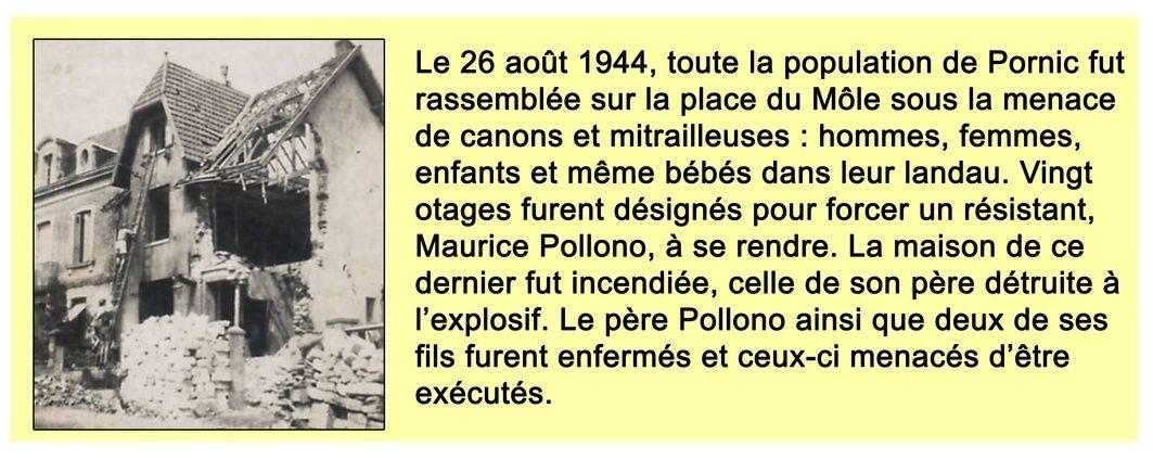 PORNIC, préparer la commémoration-reconstitution du 26 août