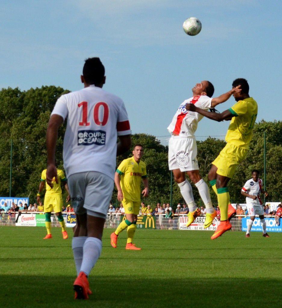PORNIC : le match Nantes-Rennes (02)