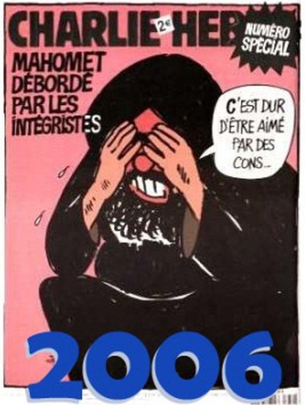 Charlie-Hebdo : c'est dur d'être aimé par des cons !