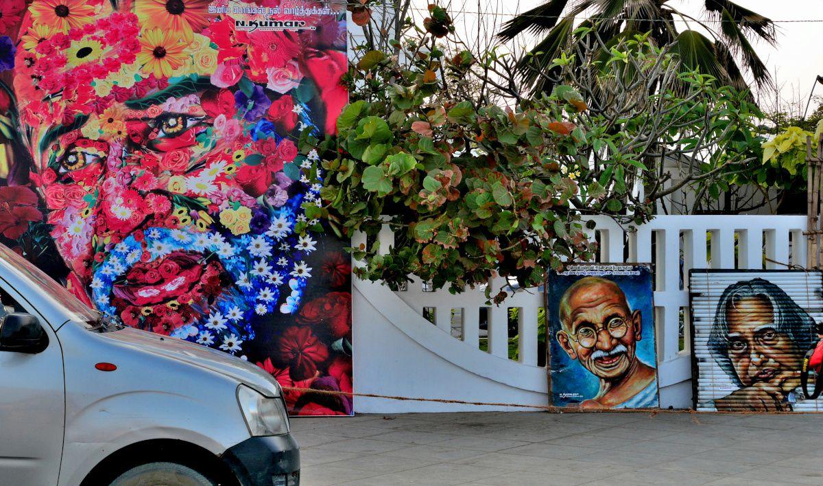INDE du SUD interruptus (09) : Pondichéry, front de mer