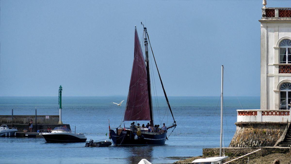 Cet après-midi : beau temps, belle mer et la...