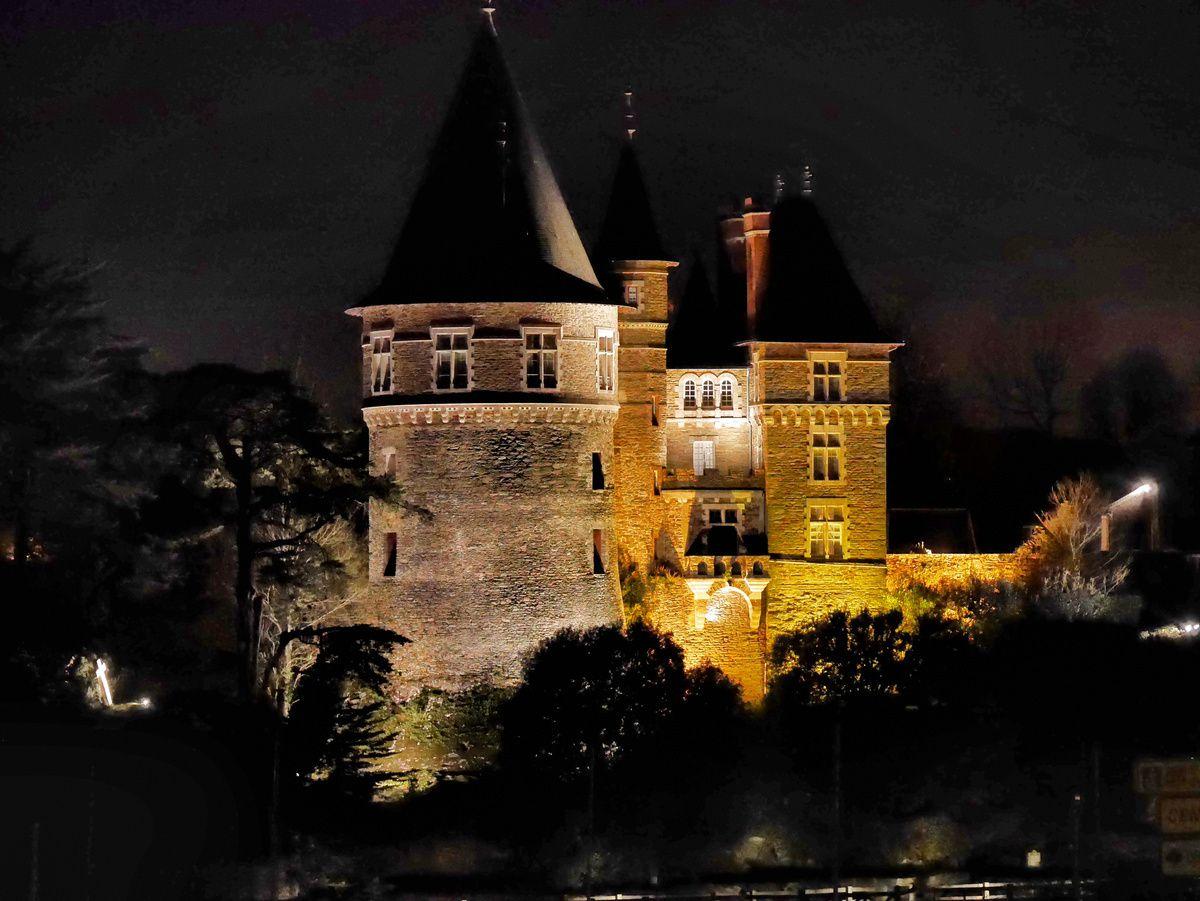 Un château de contes de fées
