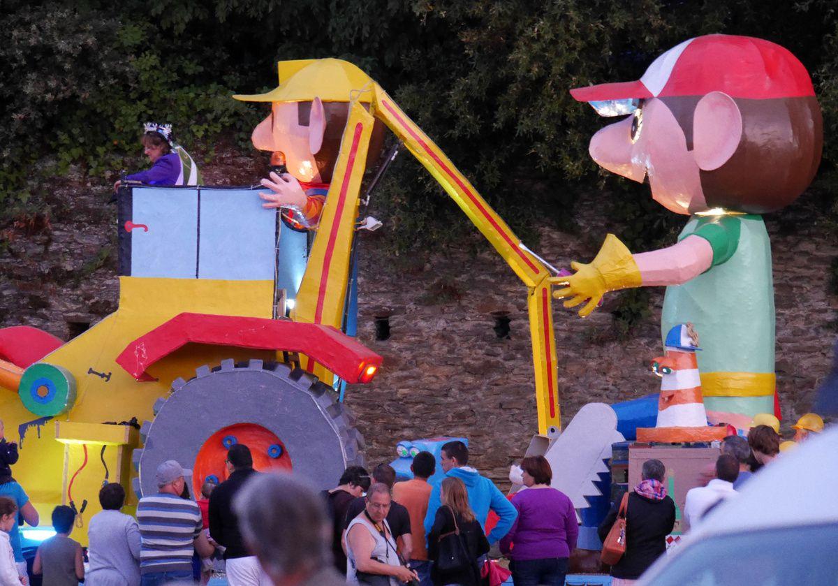 carnaval de nuit, le défilé