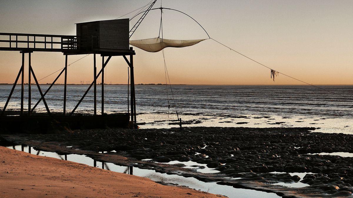 Les Moutiers en Retz et son parc de pêcheries (02/04)