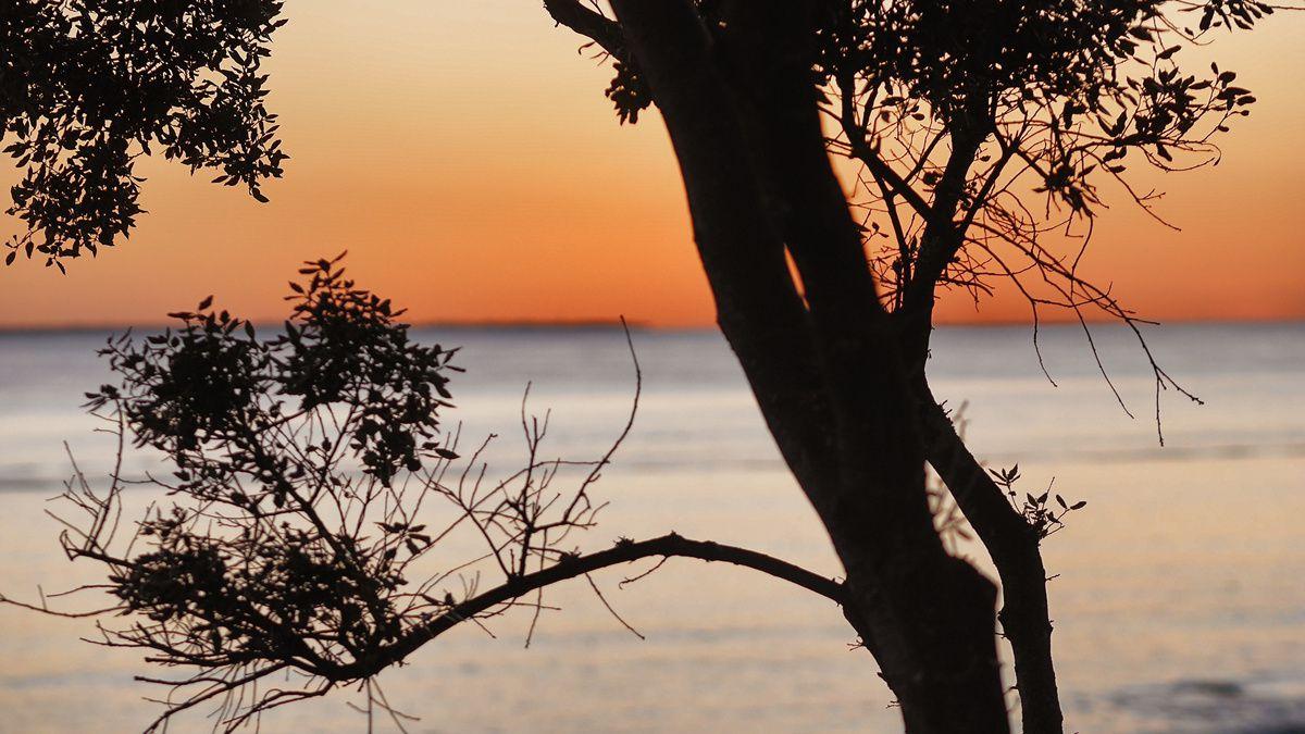 Coucher de soleil sur Sainte-Marie-Sur-Mer