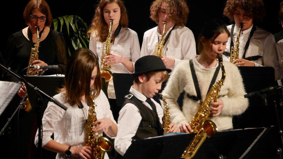 Jazz avec Slava et le Pornic Sax Septet, organisé par l'ACAP
