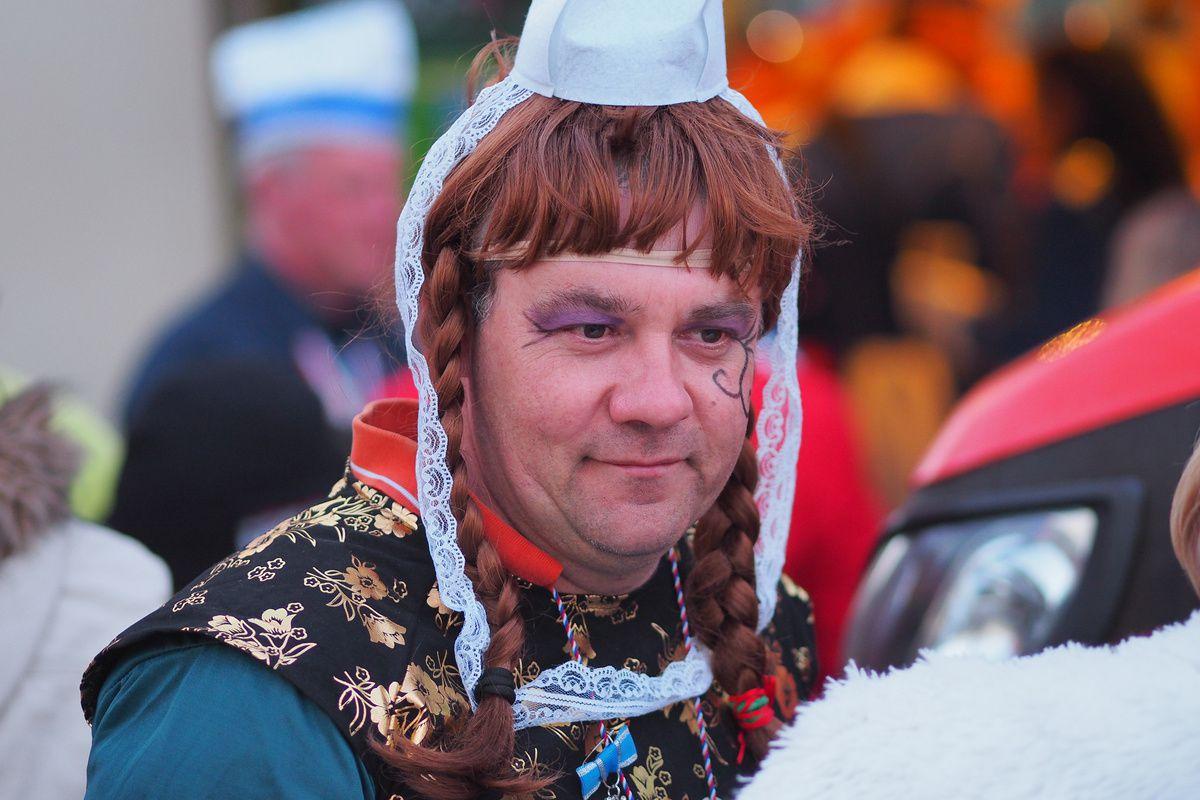 carnaval : défilé du lundi (première partie)