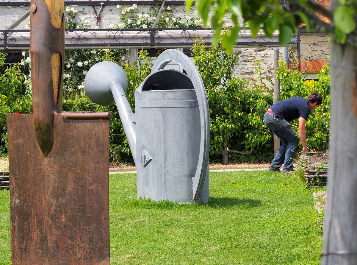 Le jardin Gulliver de la Fontaine aux Bretons