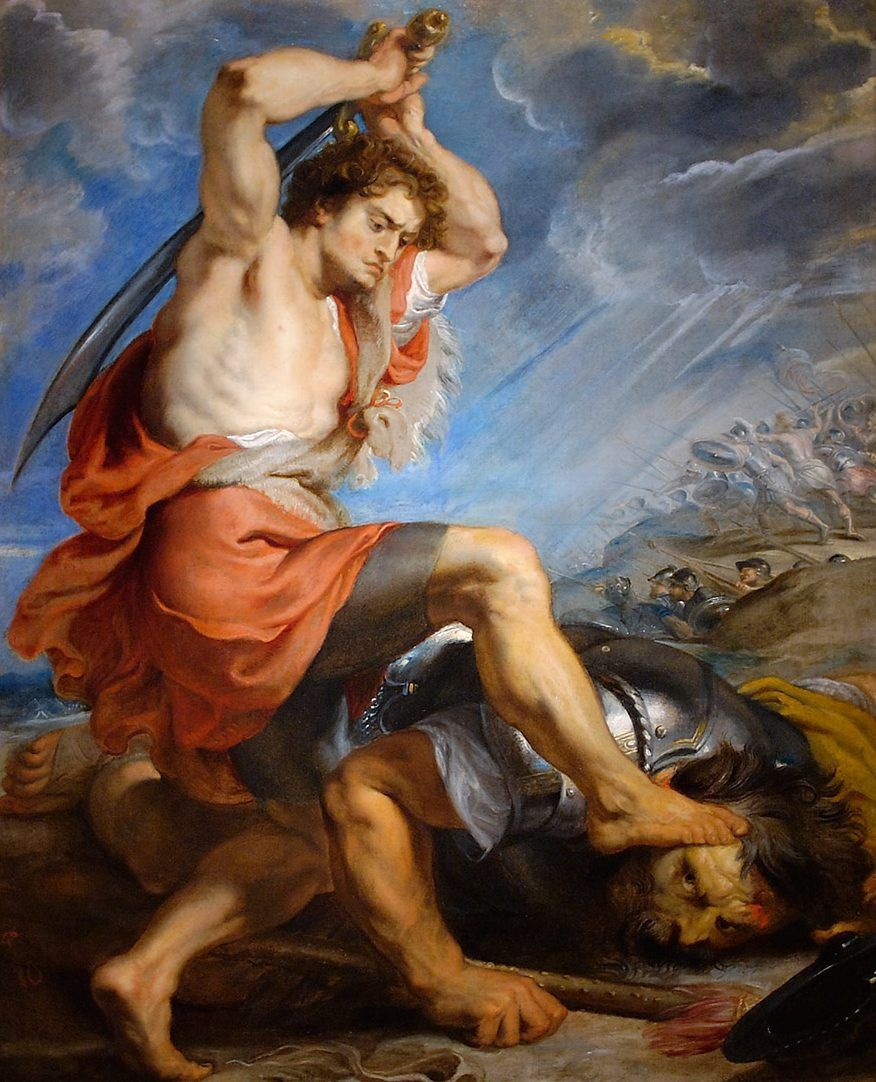 David contre >Goliath (Peter-Paul RUBENS)