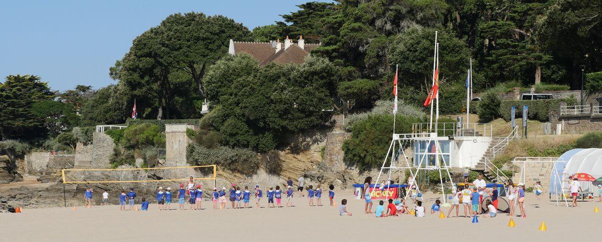 Jeux de plage....