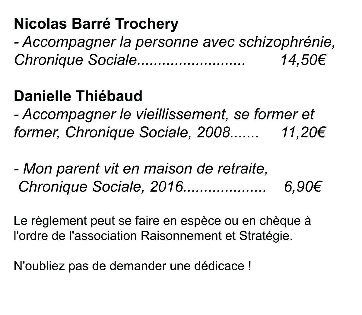 Nicolas Barré : conférence sur la schizophrénie