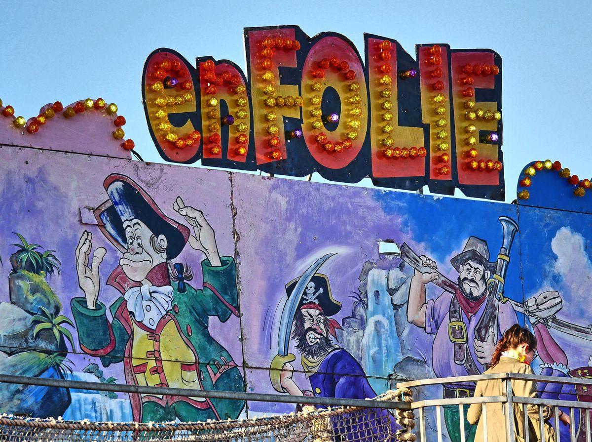 la fête foraine du carnaval