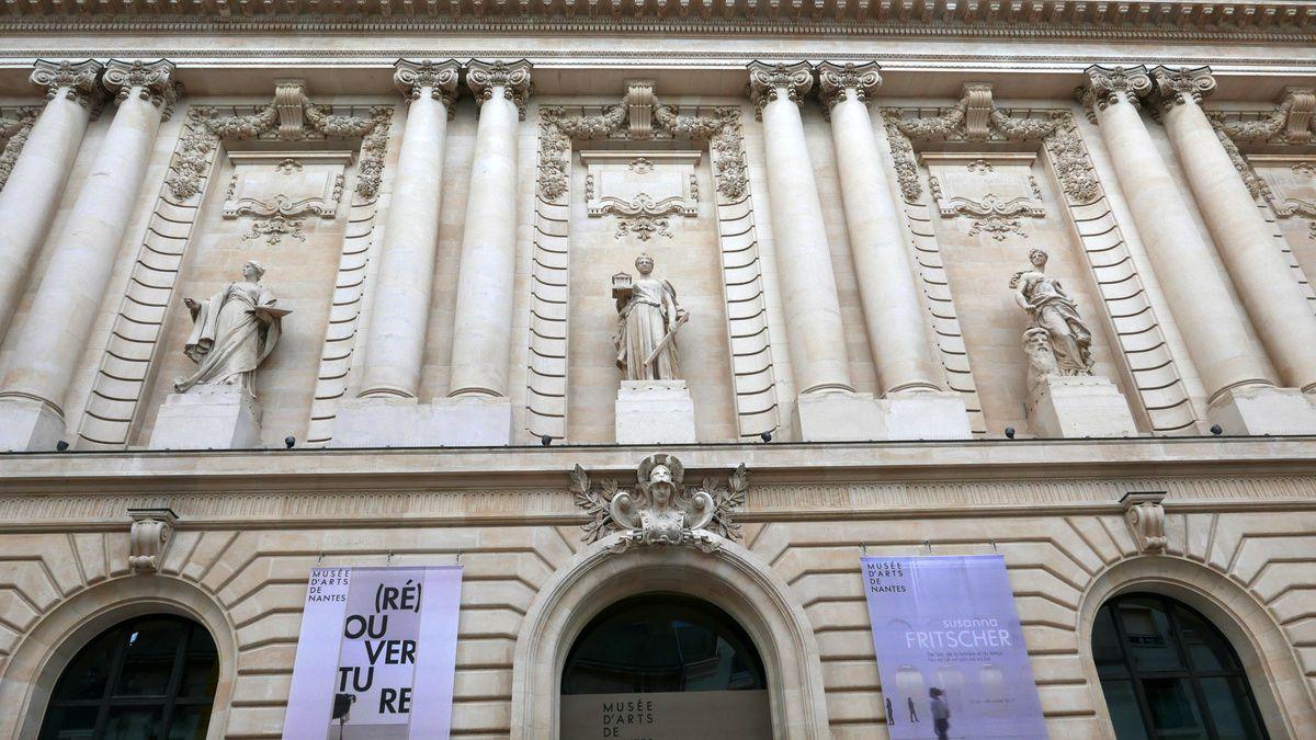 ouverture du Musée des Arts de NANTES, ça s'arrose !