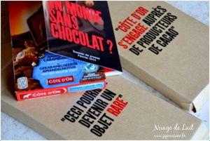 Avis de recherche &quot&#x3B;Le chocolat a disparu&quot&#x3B; jeu/concours inside il y a du chocolat à gagner
