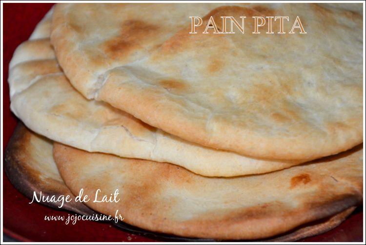 Pain Pita pour la Ronde Interblog