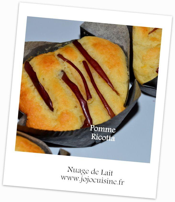 Mini Cakes à la Ricotta et à la Pomme