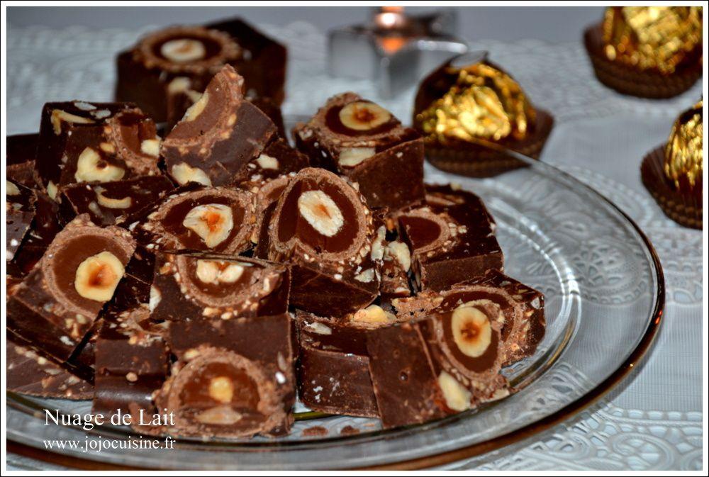 Fudges Nutella et Ferrero